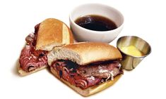 french dip from Minetta Tavern   macdougal st, NYC
