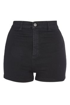Shop women's shorts at Topshop. From structured culottes to denim hotpants - show off enviable legs this season with easy online delivery on all orders. Black Denim Shorts, Casual Shorts, Short Noir, Chinese Hairpin, Topshop, Retro Shorts, Mini Short, Teenage Girl Outfits, Short En Jean