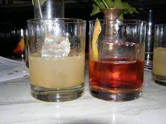 Classically Modern Cocktails at Lantern's Keep.