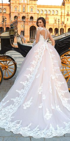 Crystal Design 2017 Wedding Dresses Collection ❤️ See more: http://www.weddingforward.com/crystal-design-2017-wedding-dresses-collection/ #weddings #dresses #crystaldesign