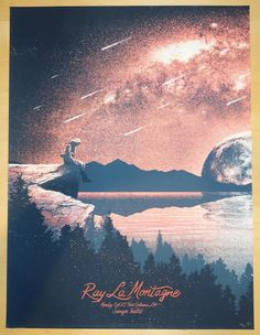 2014 Ray Lamontagne - New Orleans Concert Poster by Monkey Ink