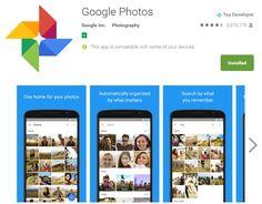 #Multimedia #fotos #google Google Fotos ya nos permite deshacer cambios en nuestras imágenes, sin duplicar espacio