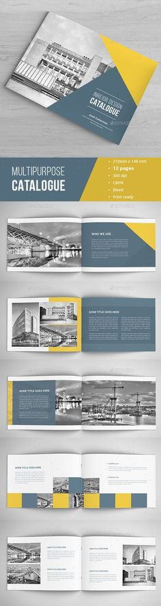 Modern Architecture Brochure Brochure template, Modern - architecture brochure template