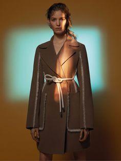 cool Alisa Ahmann stars Sportmax's ad campaign Fall 2015 shot by David Sims  [campaign]