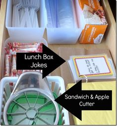 Back To School: Lunch Organization