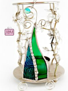 CLEARANCE 50% OFF  Stained Glass Tree by NiftyMumzyStudios on Etsy