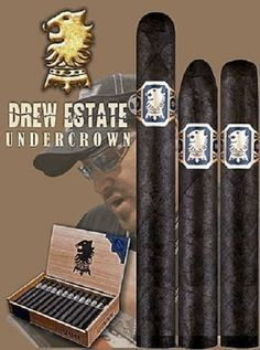 Love the Drew Estates Undercrown Whisky, Cigars And Whiskey, Good Cigars, Pipes And Cigars, Cuban Cigars, Drew Estate, Cigar Shops, Cigar Art, Premium Cigars