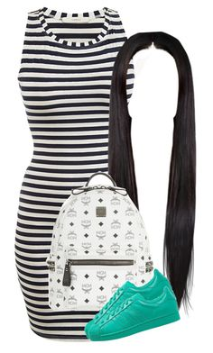 """""""Follow for follow or nah"""" by deasia-still-thugin-honey ❤ liked on Polyvore featuring beauty, MCM and adidas Originals"""