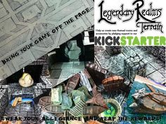 Legendary Realms Terrain – Themed Dungeon Rooms! - Kickstarter