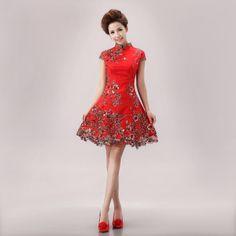 beautiful  Cheongsam art | ... cheongsam dress married cheongsam formal dress(China (Mainland