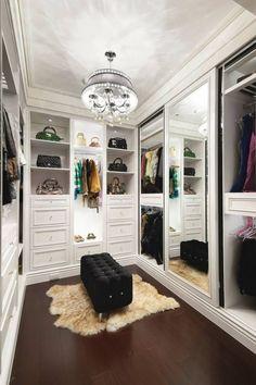 Dcore voc� | Quarto Com Closet,   de 60 Modelos Para Mudar Seu Quarto | http://www.dcorevoce.com.br