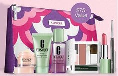 Clinique 2014 Fall Limited Edition 7 Pcs Skin Care  Makeup Gift Set A 75 Value * Check out this great product.