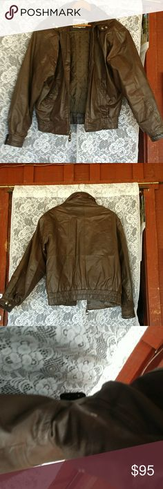 Vintage 80's Morgan Wear Leather Jacket I am listing this under men's as it is from my husband's closet although I think Morgan is often a woman's brand. However this was one of his long time favorites but he has moved on. It has seen some wear but still a beautiful jacket with style and character. OFFERS encouraged!!!! Morganwear Jackets & Coats Bomber & Varsity
