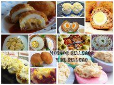 14 recetas con huevo duro. Una recopilación interesante hecha por la autora del blog La Cocina de Pikerita. En su Facebook https://www.facebook.com/LaCocinadePikerita vas a descubrir otras muchas ideas.