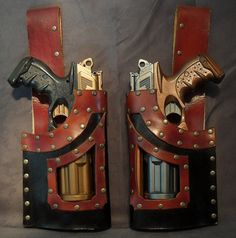 Hmmn - a nice LARP Pistol holster - no idea when I might use this - but nifty