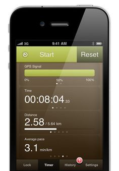 Kinetic GPS app for runners/walkers/cyclists. Tracks workouts, distance, times. Set up personal trainer for 5k, 10k, 13.1, etc. Verbal ques while listening to iPod. No need for Nike+ which has short battery life!