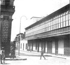 Casa Beltran, destruida para la creacion de la Av. Emancipacion