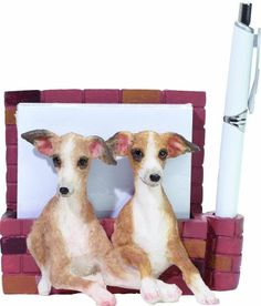3D magnetic  Italian Greyhound  pet note holder Makes the perfect gift for Italian Greyhound lovers Uniquely handcrafted for your home or office * Find out more about the great product at the image link.