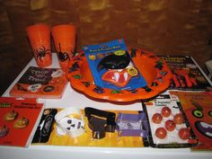 Lot of 8 Halloween Party Accessories Pumpkin Carving Party or Birthday Party…
