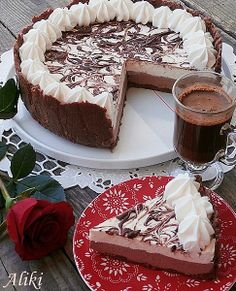 Mom dishes: Cheesecake with two kinds of chocolate