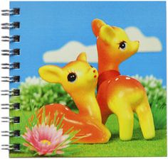 Popjes Art Notebook. Hertjes.