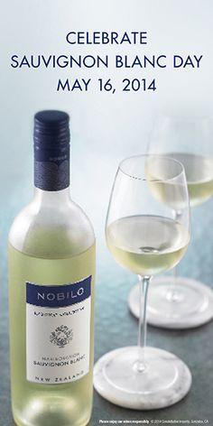 Celebrate Sauvignon Blanc Day, May 16, 2014