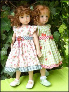 Lucile et Emma rose en Violette