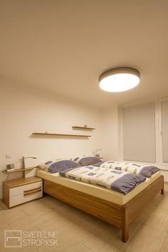 Svetelný strop CIR 800 SLIM v tmavom dekóre prisadený. Led, Furniture, Home Decor, Decoration Home, Room Decor, Home Furnishings, Home Interior Design, Home Decoration, Interior Design
