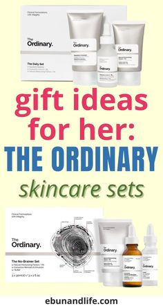 If you are looking for gifts for the beauty lover or just women in your life, The Ordinary Skincare Set is a great gift.