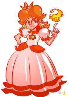 Image result for fire princess daisy