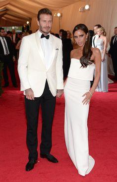 David & Victoria Beckham @ MET Gala 2014
