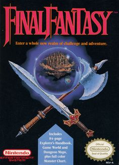 Final Fantasy - for the NES. Spent countless hours playing this game as a kid. My party consisted of a Fighter (Kid), Black Belt (Joe), White Mage (Meg), and Black Mage (Spot). How awesome was their transformation after you got the rat tail ;o). Played the PS1 remake but their is nothing like the original and those awesome 8 bit graphics. This game is tied as my favorite FF game next to FFX.