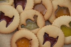 Halloween Ginger Biscuits (cookies) from the Pink Whisk
