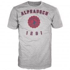 Schuelbueb grey melange +Alprausch men's T-shirt Grey, Mens Tops, T Shirt, Fashion, Gray, Supreme T Shirt, Moda, Tee, Fashion Styles