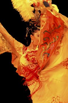 """""""Gauzy skirts swirl around the Tang Dynasty Dancer's head.""""    An Editors' Pick from Smithsonian.com's Ongoing 10th Annual Photo Contest: October 20, 2012    Photo by Catriona Binder-Macleod  Photographed June 2011, Xian, China"""