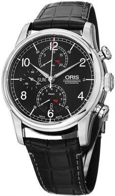 Luxury watches : Oris Raid Men's Automatic Chronograph Limited Edition Watch 77576864084SET