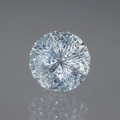 Very cool ice-blue color...reminds me of Frozen! lol Montana Sapphire gemstone