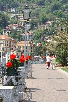 Via Benedetto Castelli by The Lakeside, Menaggio, Italy