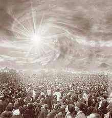 Miracle of sun Fatima 1917