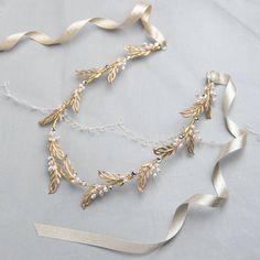 Donna Crain Accessories Cassandra Bridal Hair Vine