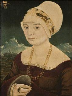 A Woman, ca. 1505 (Martin Schaffner) (ca. 1477-1548) Philadelphia Museum of Art, PA, Inv. 733