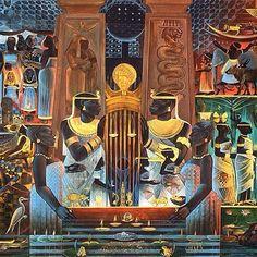Cosmic Energy of Balance & Justice: Kemetic Neter Maat #kemetic ...