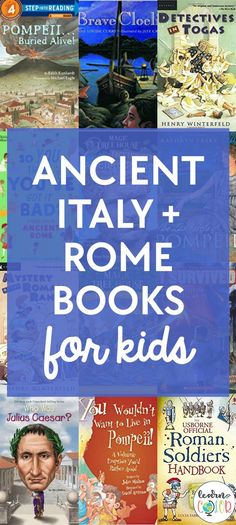 Ancient Italy and Rome Books for Kids - Learn in Color