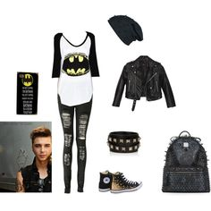 batman and andy :3