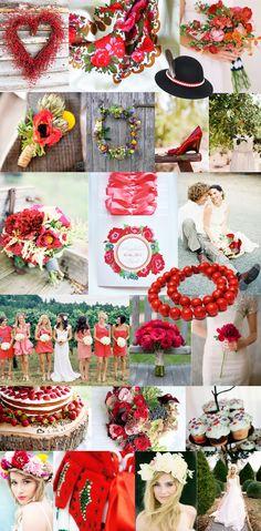 czerwone ludowe wesele