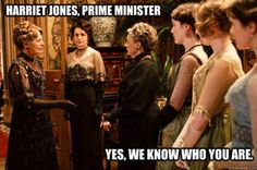 doctor who + downtown Abbey....... its getting a bit Riddikulus hahahahahahah laugh at my cleverness