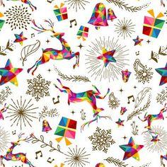 X-mas Holiday Print - Joyful & Bright