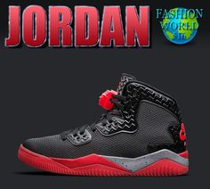 finest selection 1c66d ec224 Nike Air Jordan Spike Forty PE Black Fire Red Bred 807541-002 Size 14 retro