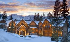 Snowed in at Lake Tahoe is where we spent our Honeymoon. We'll go back with the kids in a couple of years.