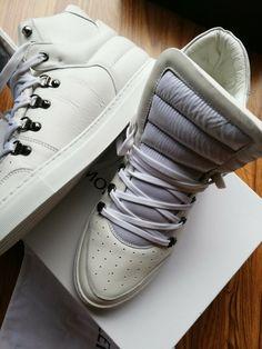 the best attitude 7b170 62b2d Moncler  Jacques  High-Top-Sneakers Herren Schuhe WEISS ...